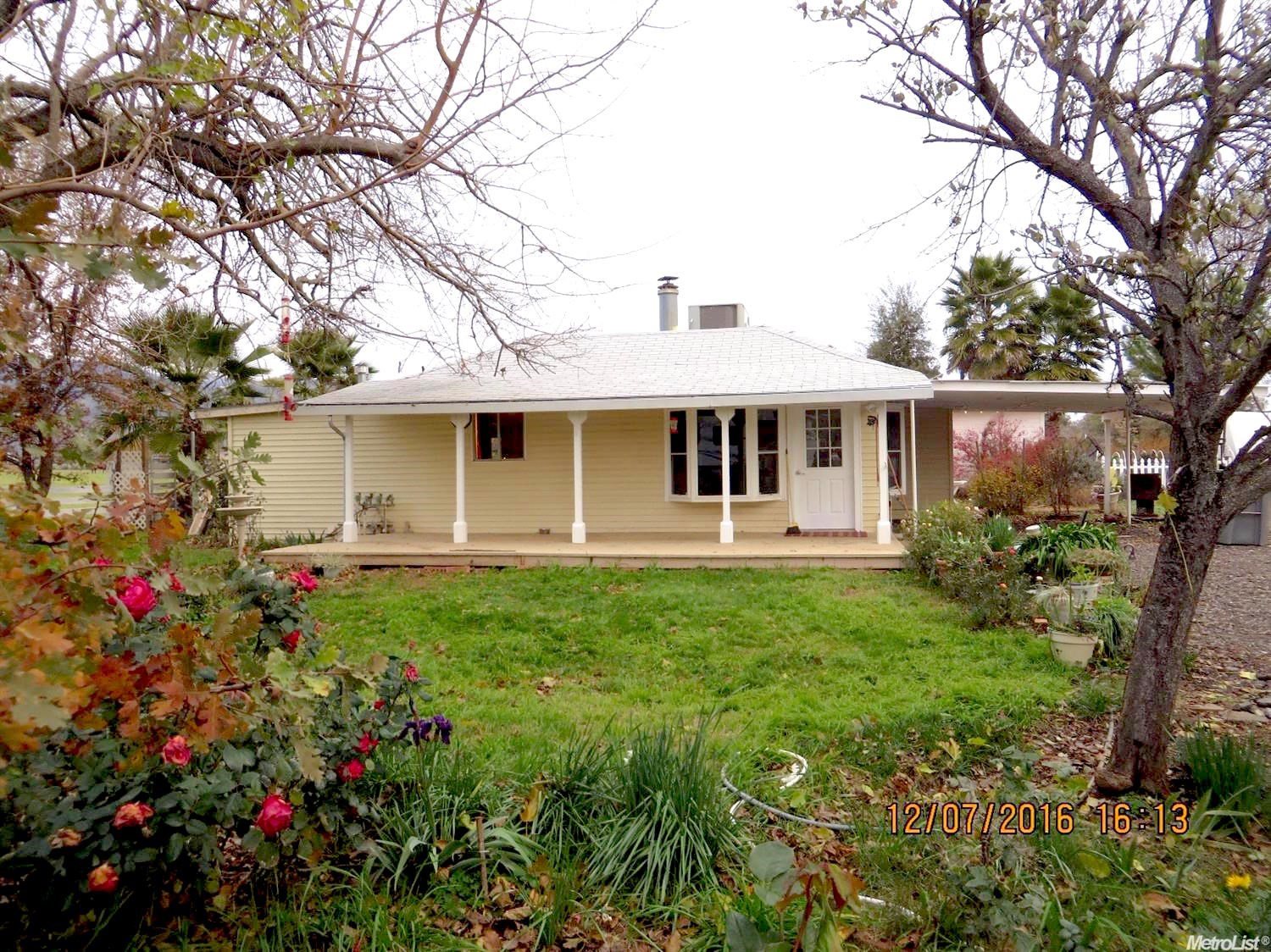 Capay Valley Home for Sale - Northern California Yolo County