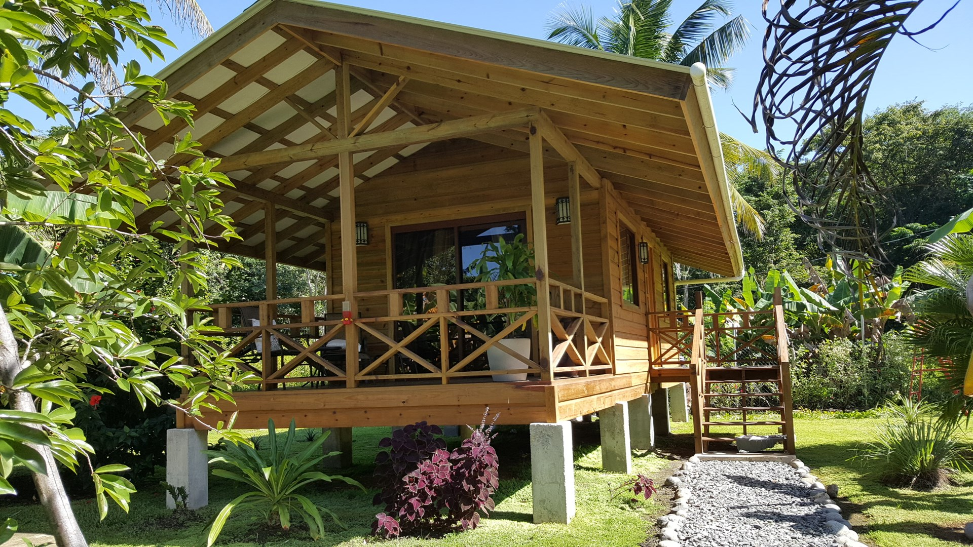 2 New Affordable  Coastal Cabins in  Bocas del Toro, Panama