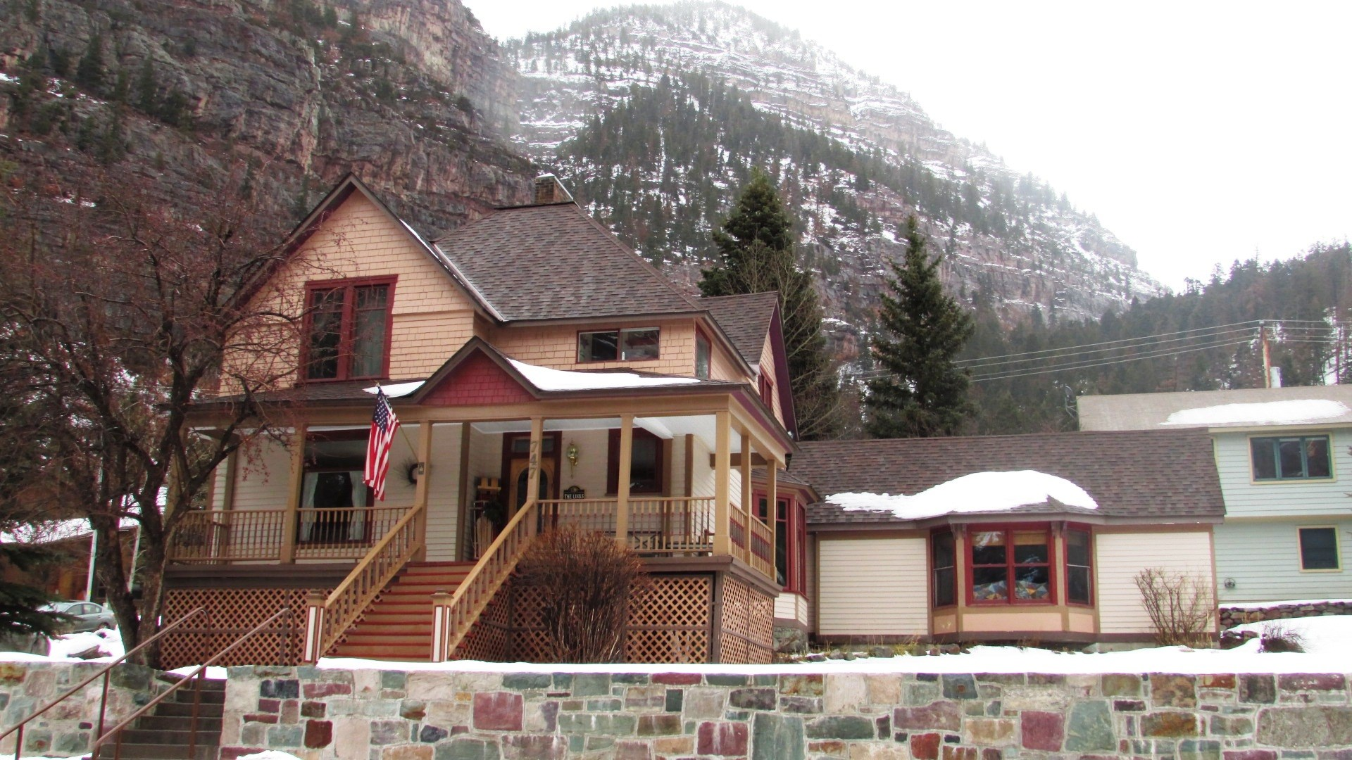 Ouray  Colorado Victorian Home With Mountain Views For Sale