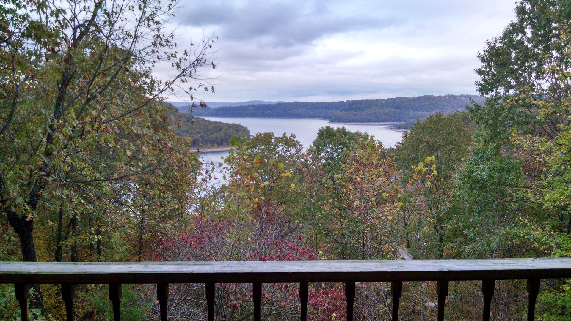 Beaver Lake view home and land for sale near Eureka Springs