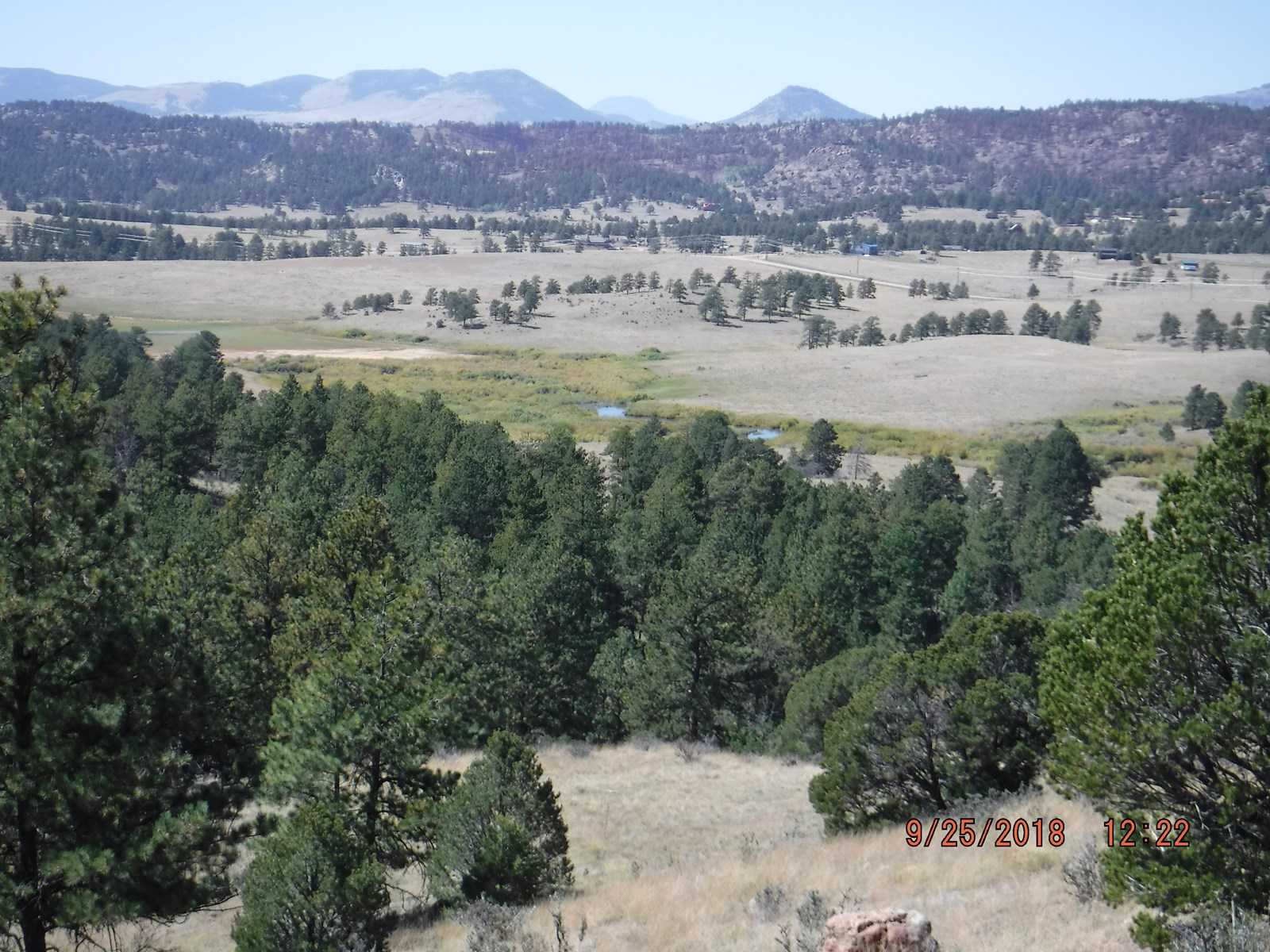 Colorado Acreage With Lake and Stream Access for Fishing