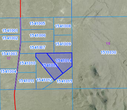 Mountain Land for Sale off of County Road in Northern Nevada