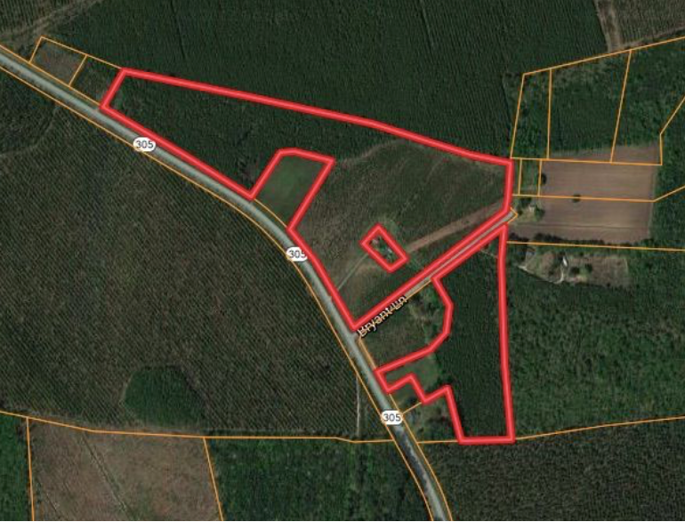 Hunting Land for Sale in Bertie County, NC