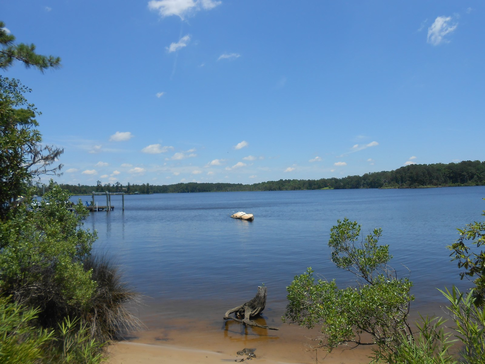 Waterfront lot for sale in Beaufort County, North Carolina