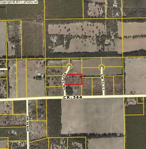 EASLEY PLACE SUBDIVISION VACANT LAND- TRENTON FLORIDA