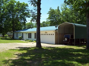 CLEARWATER LAKE HOME & 6 PLUS ACRES