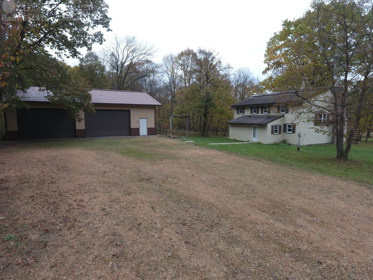 Central Wisconsin Hunting Land for Sale with Lodge