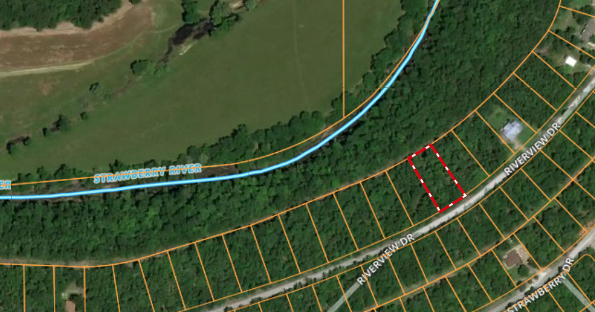 Vacant Lot For Sale near Strawberry River in Arkansas