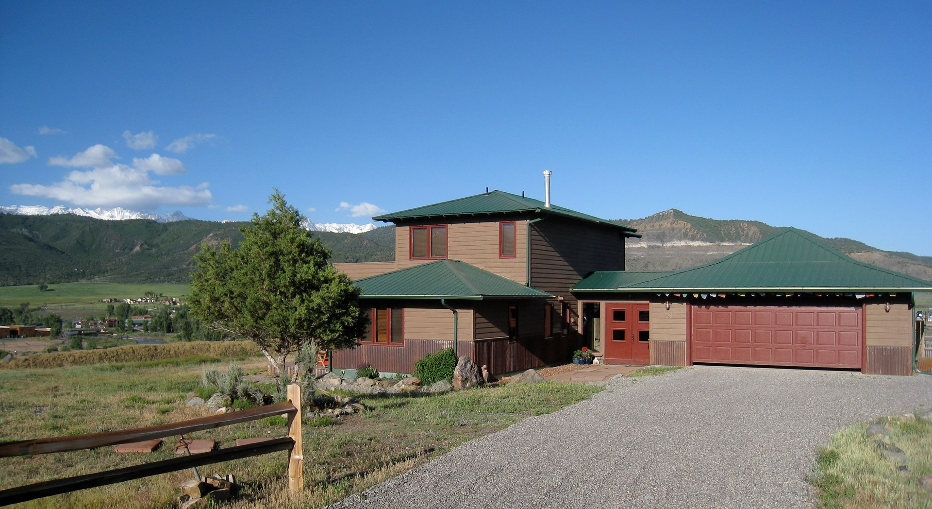 Ridgway Colorado Mountain Home For Sale