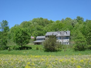HOME, 60 ACRES, 5 SPRINGS, & TROUT STREAM FOR SALE IN WI