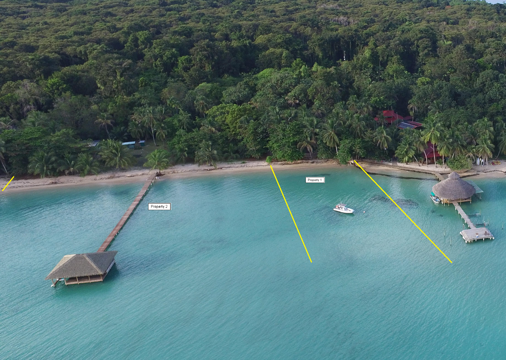 Beautiful Panama Beachfront Land Leeward side Bocas del Toro