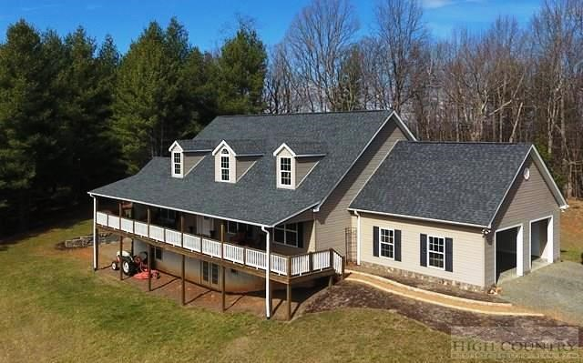 OVER TEN MTN ACRES, AWESOME SINGLE LEVEL HOME, SPARTA, NC.