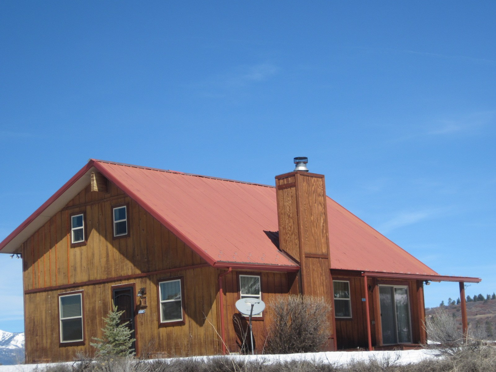 No. NM Cabin For Sale Chama Mountain View Recreational Prop.