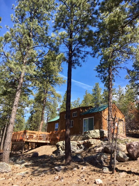 Brazos Fishing Cabin near Chama NM for Sale  w Acreage