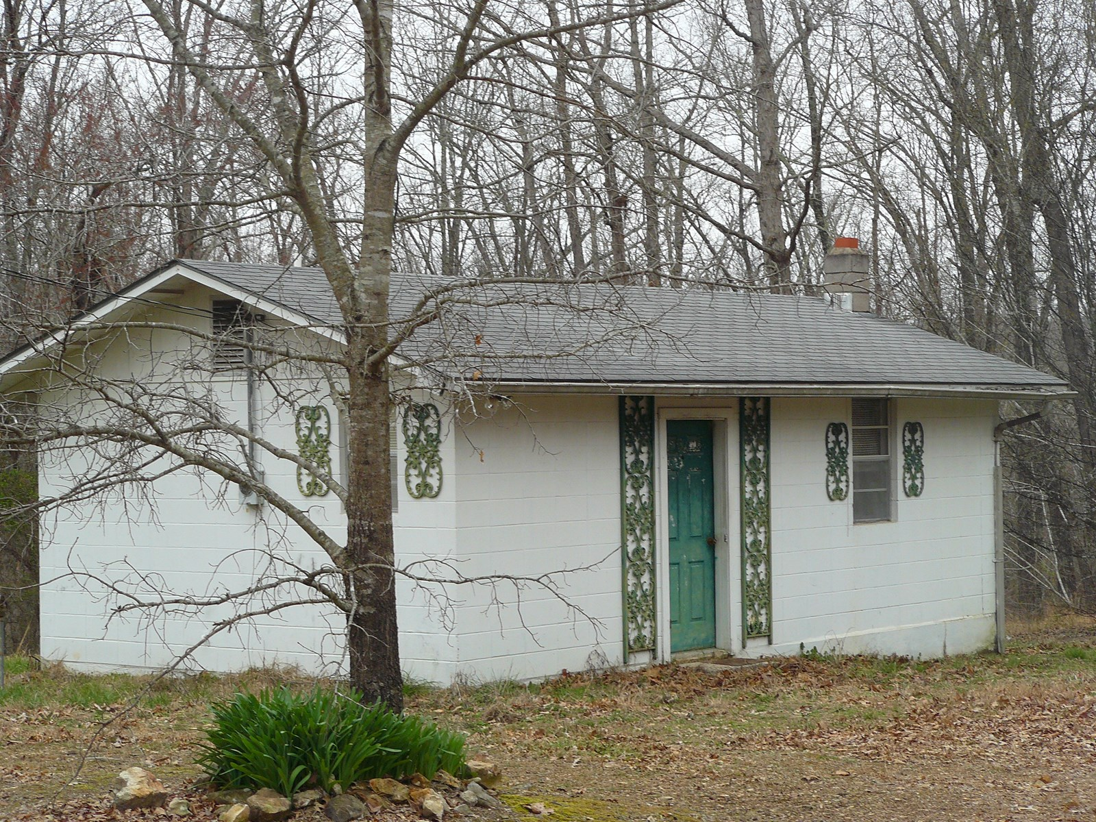 No.01636 TWO SMALL HOMES ON 1 ACRE FOR SALE NEAR MTN VIEW AR