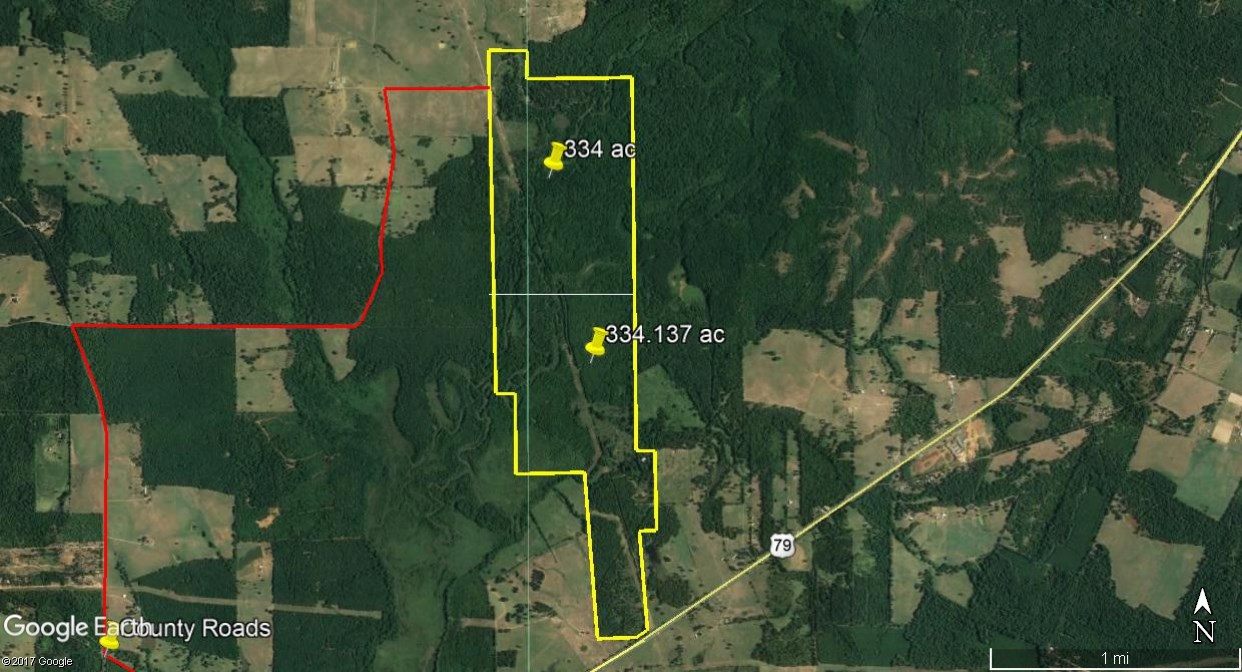 668 ACRES HUNTING RECREATION FISHING FORESTED LAND FOR SALE