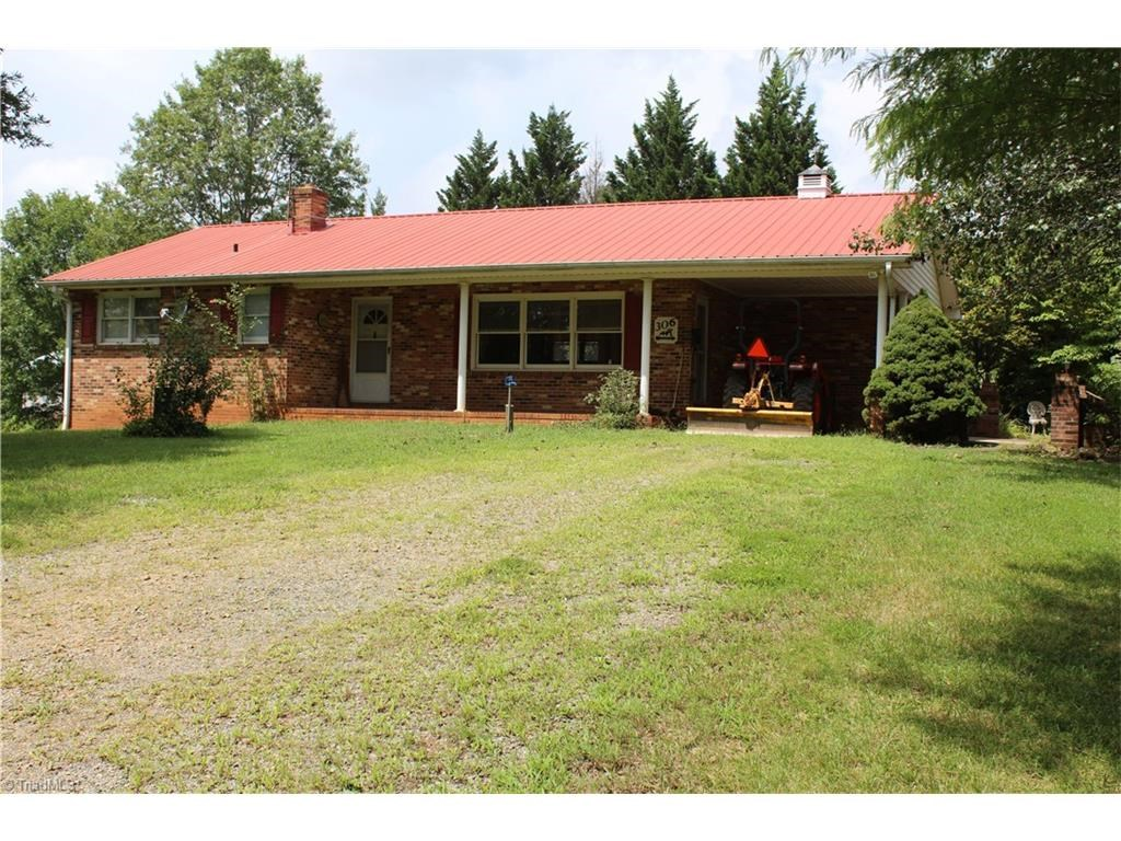 Farm for sale in Elkin, NC - Pasture Land with Ranch Home