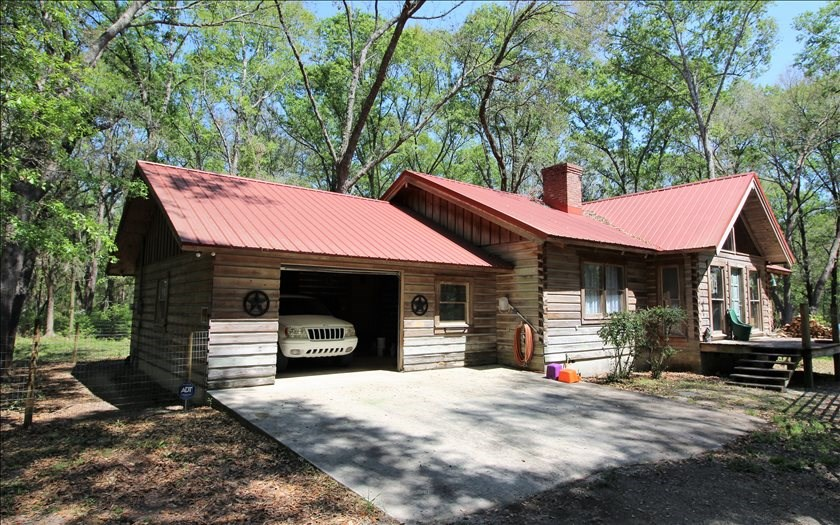 SOLD Cypress Log Home in Live Oak, FL