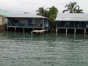 TITLED CARIBBEAN STYLE BED AND BREAKFAST, ISLA COLON PANAMA