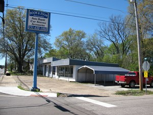 COMMERCIAL BUILDING & LAND FOR SALE IN ADAMSVILLE, TN