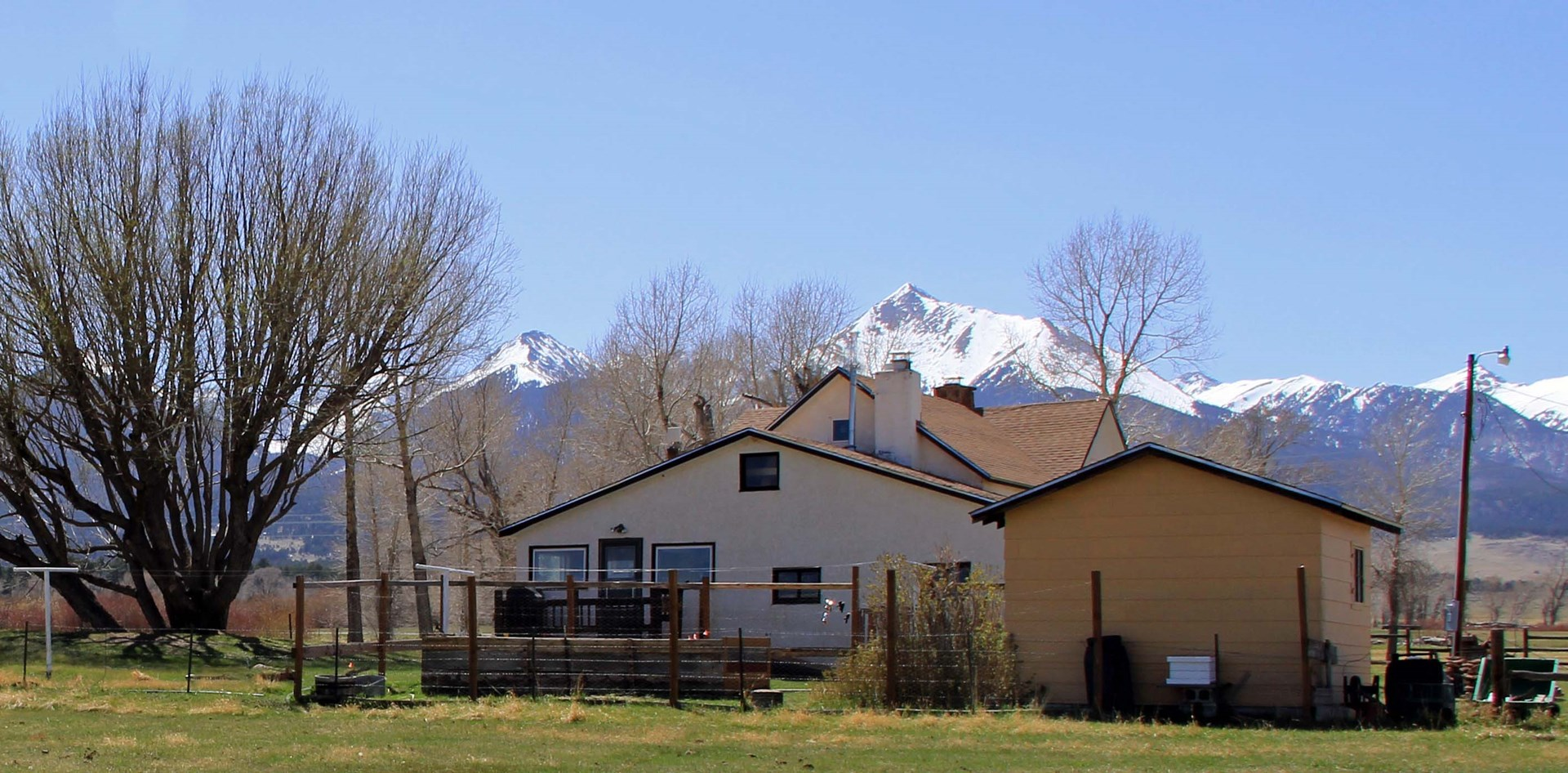 Farmhouse in Westcliffe Colorado