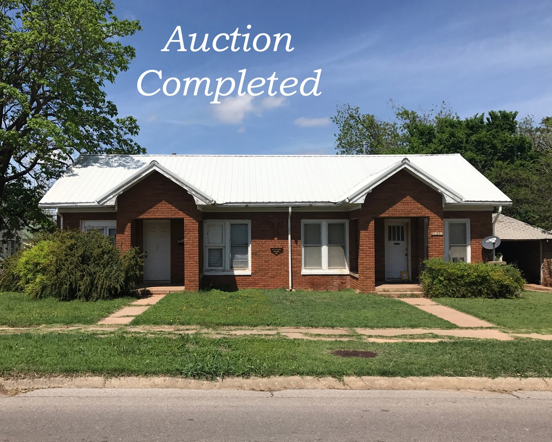 Duplex for Sale, Clinton, OK - 1019 Avant