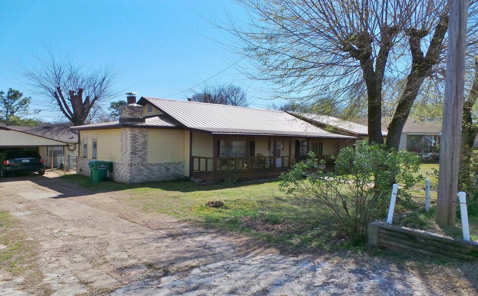 HOME IN COUNTY SEAT TOWN OF YELLVILLE ARKANSAS FOR SALE