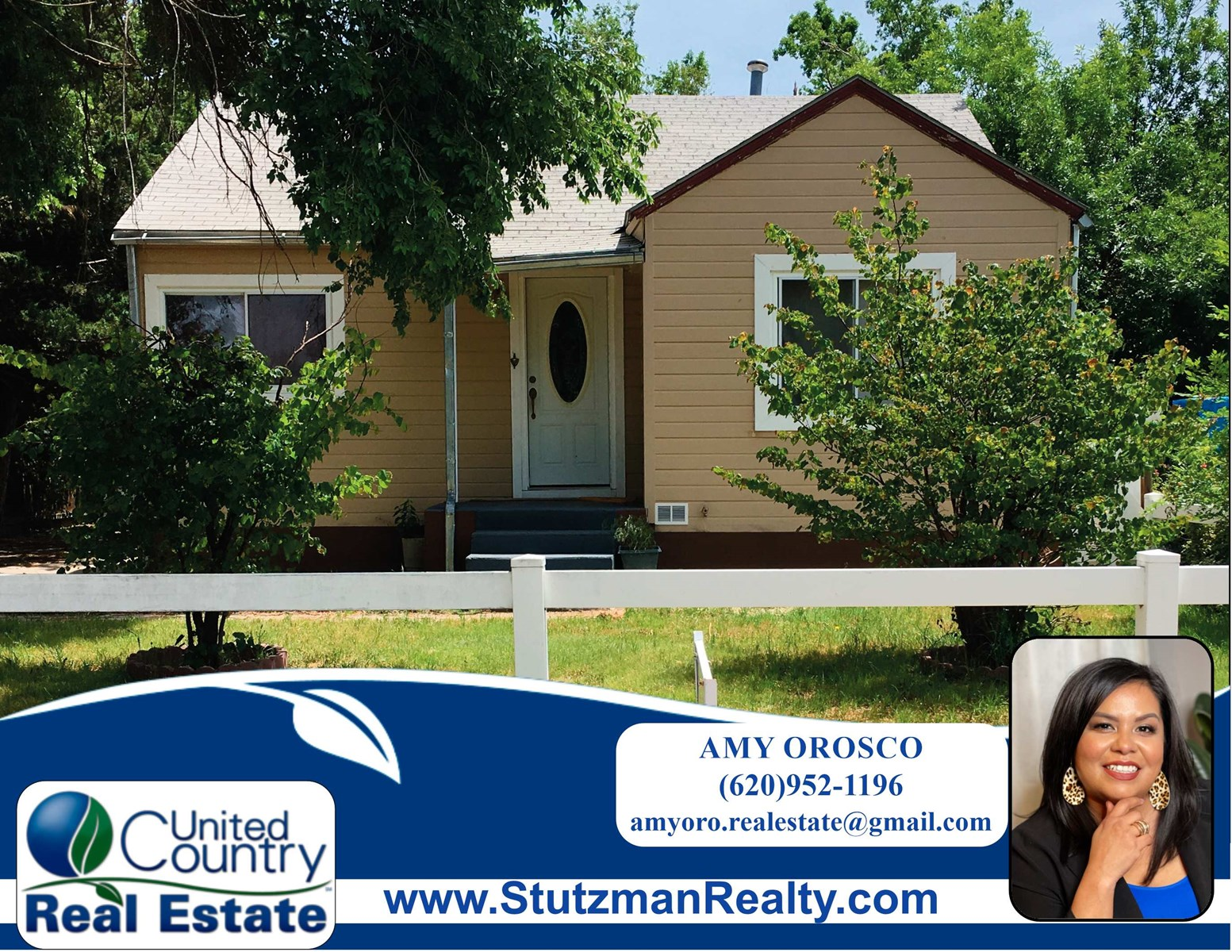 AFFORDABLE THREE BEDROOM HOME FOR SALE IN ULYSSES, KS