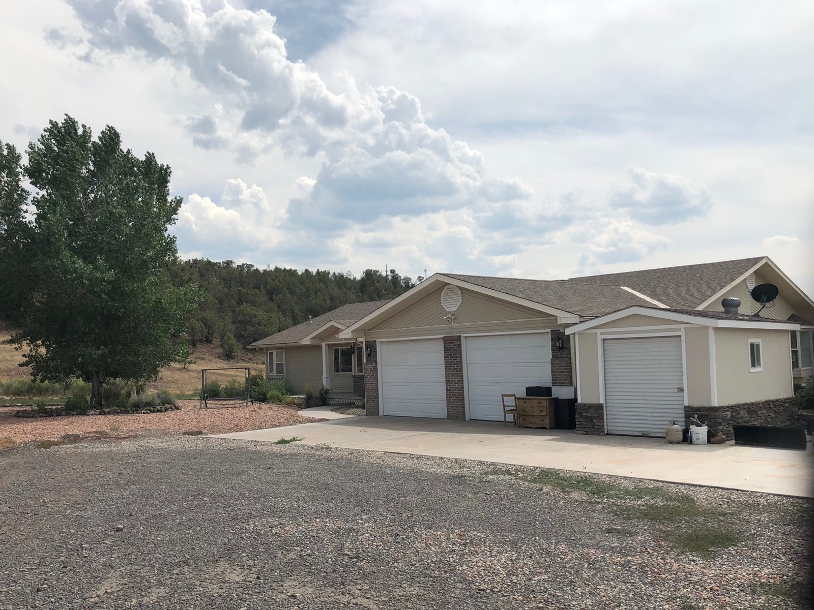 35 Acres w/Home, Creek side additional guest home for sale
