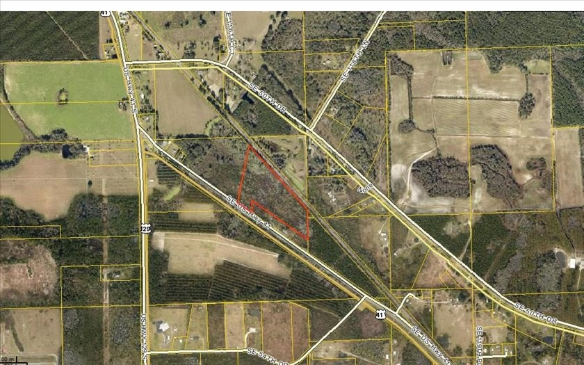 Wooded 18.6 acres in Hamilton County, FL