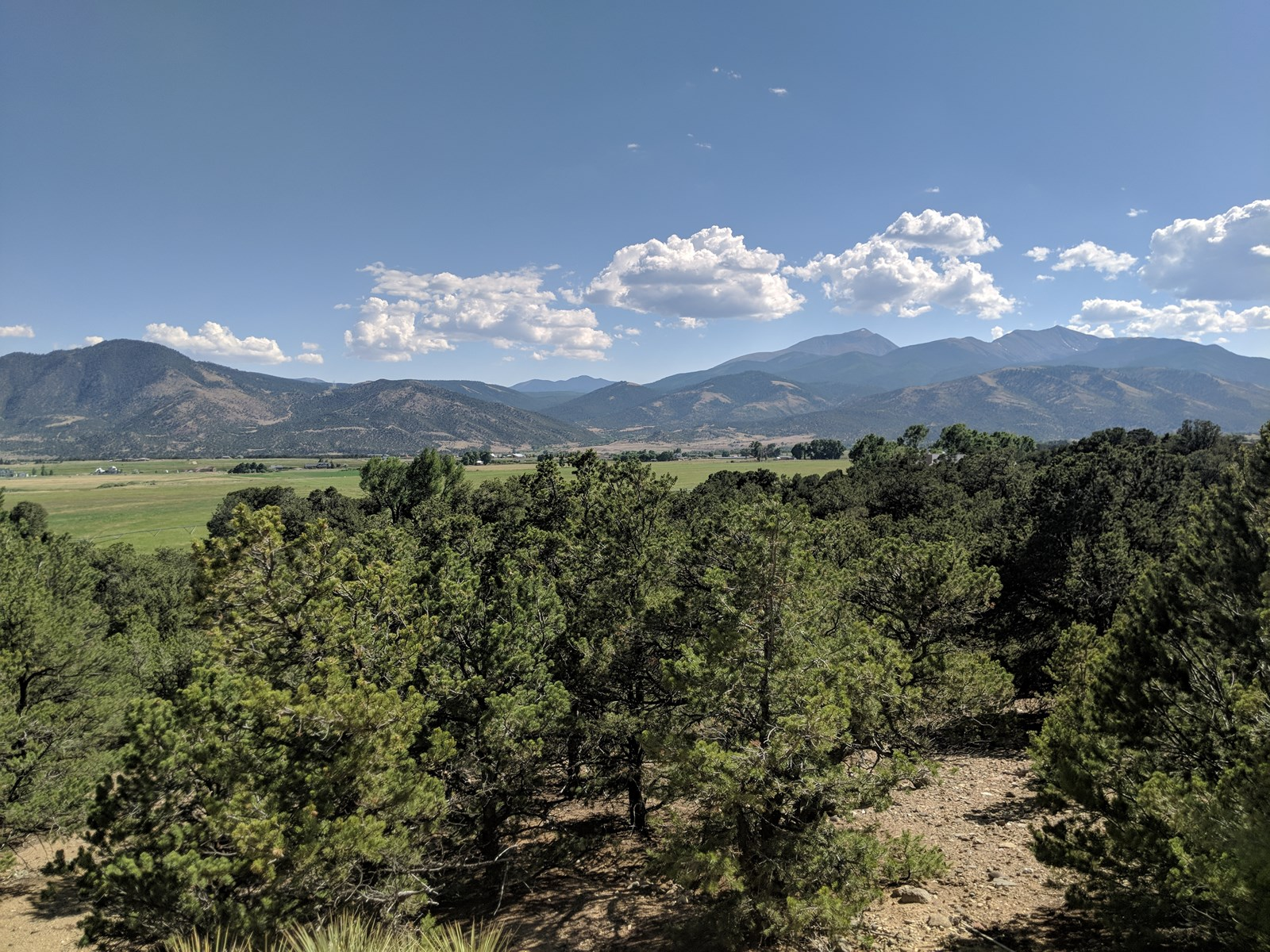 Sangre De Cristo Range Mountain Views Salida Colorado