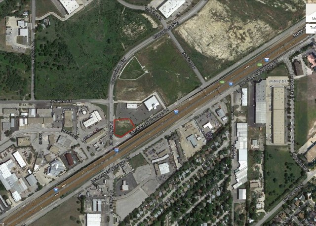 SAN ANTONIO COMMERCIAL LOT -CORNER  IH-35 ROAD FRONTAGE!