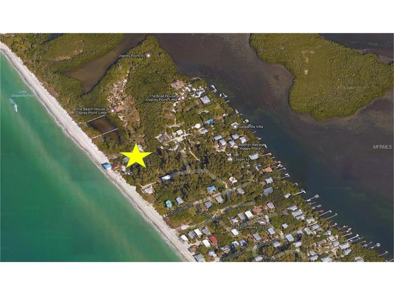 LOT FOR SALE ON LITTLE GASPARILLA ISLAND, PLACIDA, FL