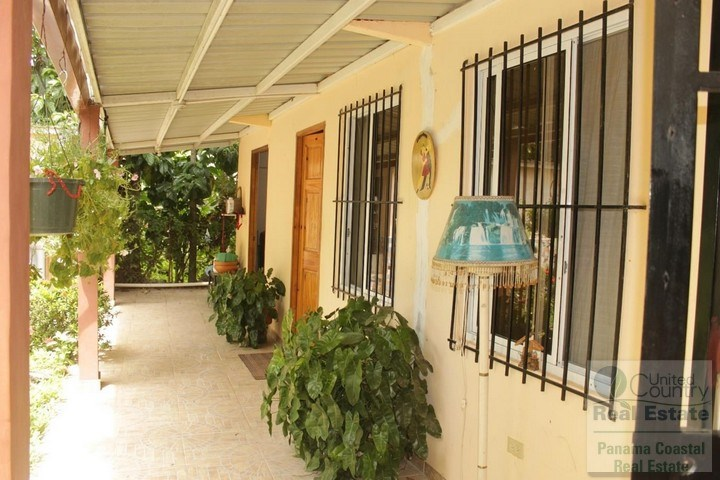 House in Gorgona for Potential B&B or Hostal, PANAMA