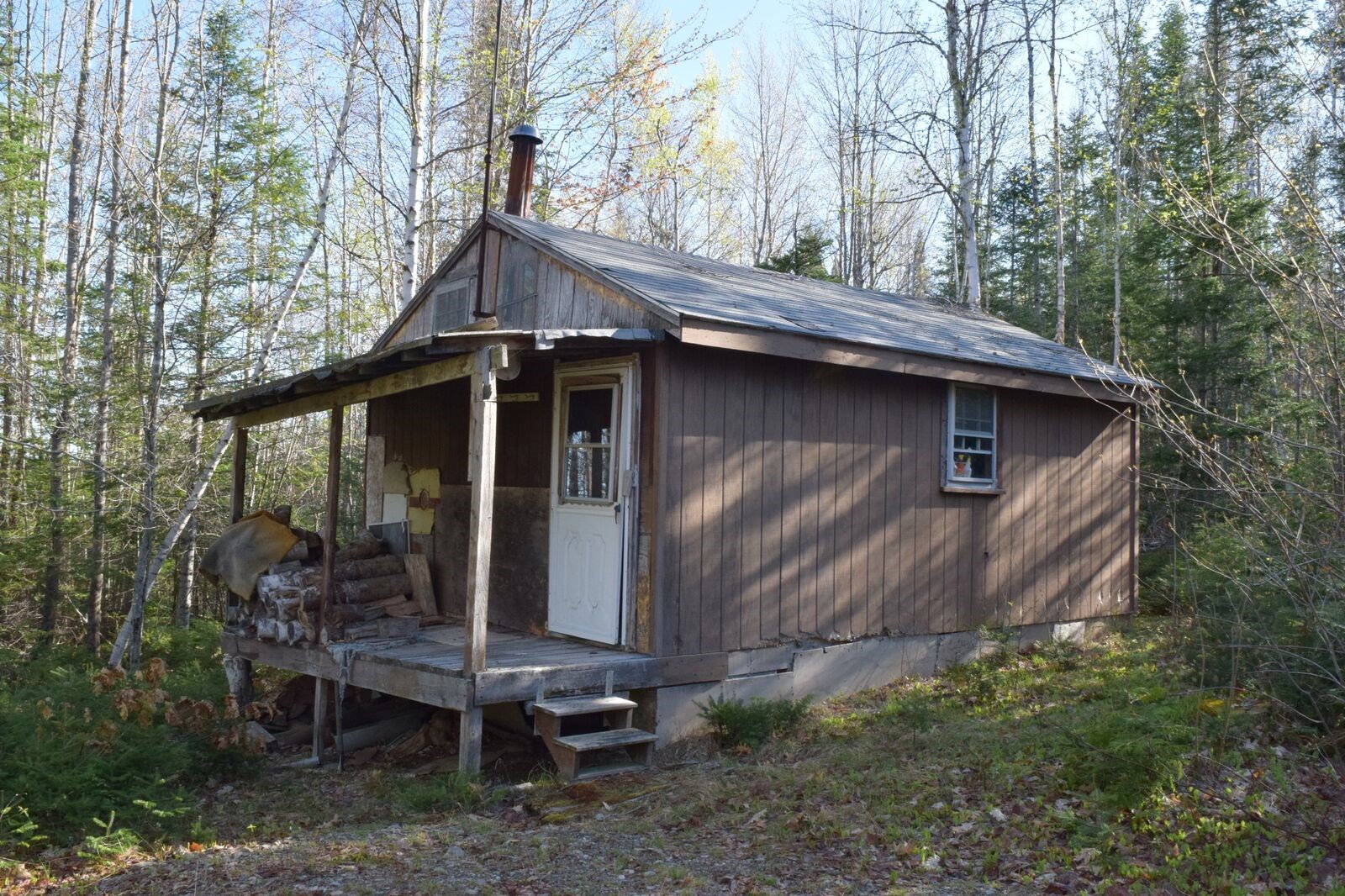 Maine Camp for Sale in Kingman Twp