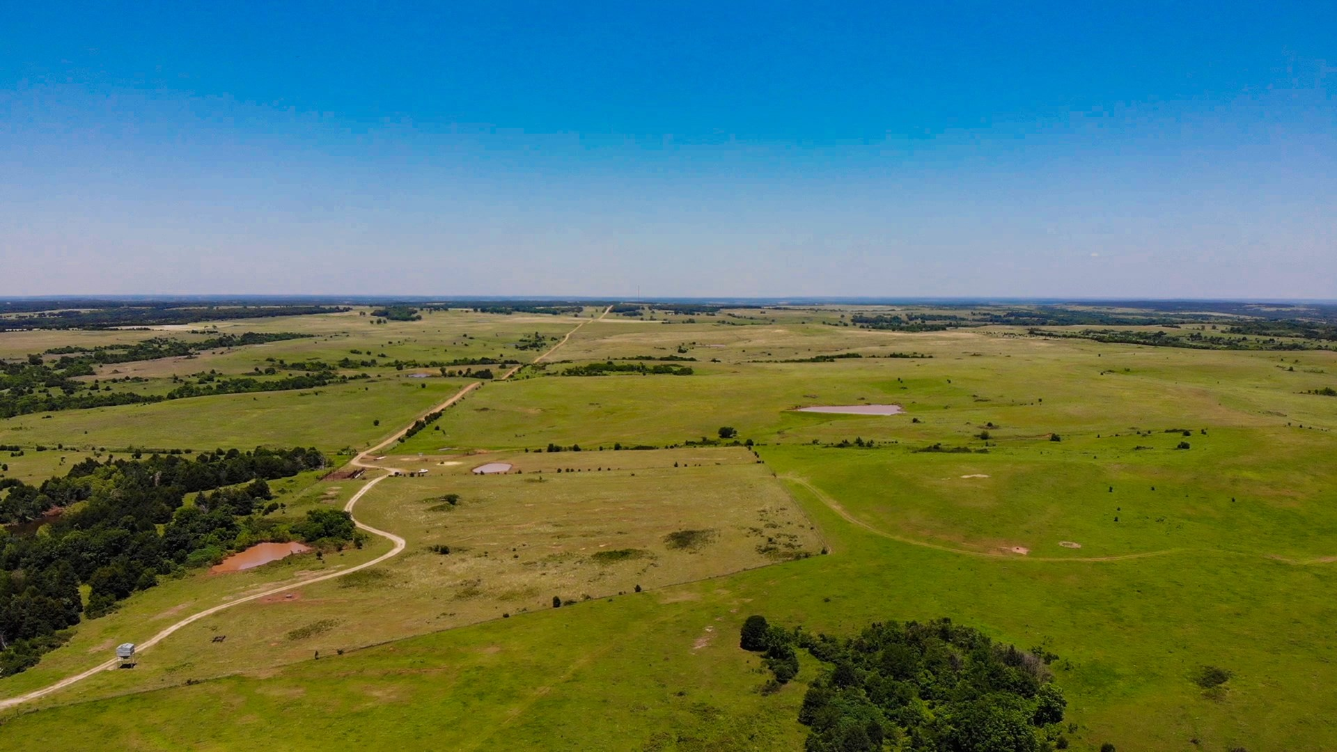 Productive cattle ranch for sale in Pawnee County Oklahoma