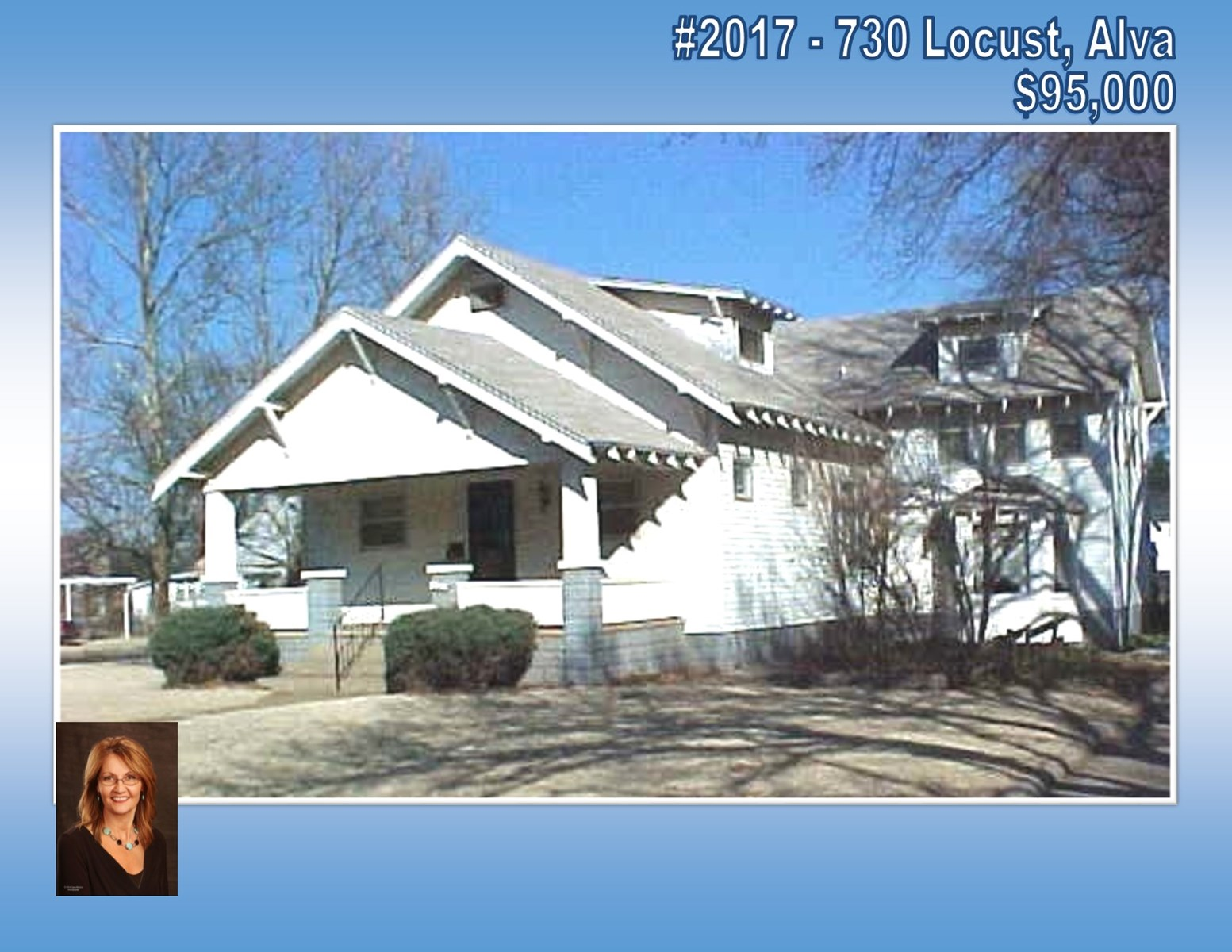 Home for Sale Alva, OK