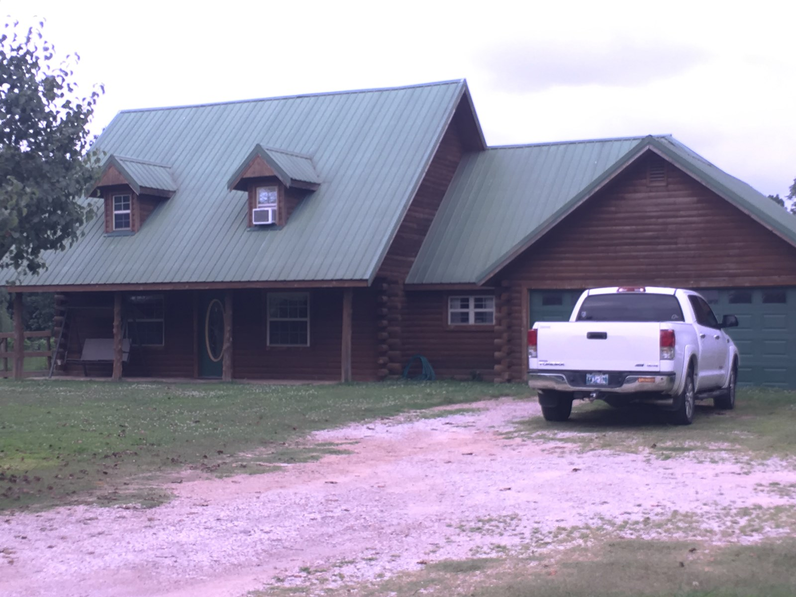 PRICE REDUCED!! SALLISAW LOG HOME ON 1.25 ACRE FOR SALE