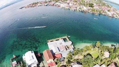 Famous Aqua Lounge for sale Bocas del Toro - Great Location!