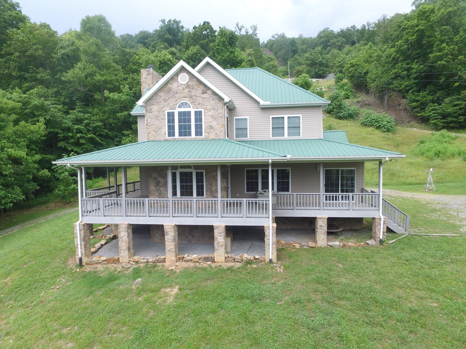 East TN Home with Acreage-Norris Lake Access-New Tazewell TN
