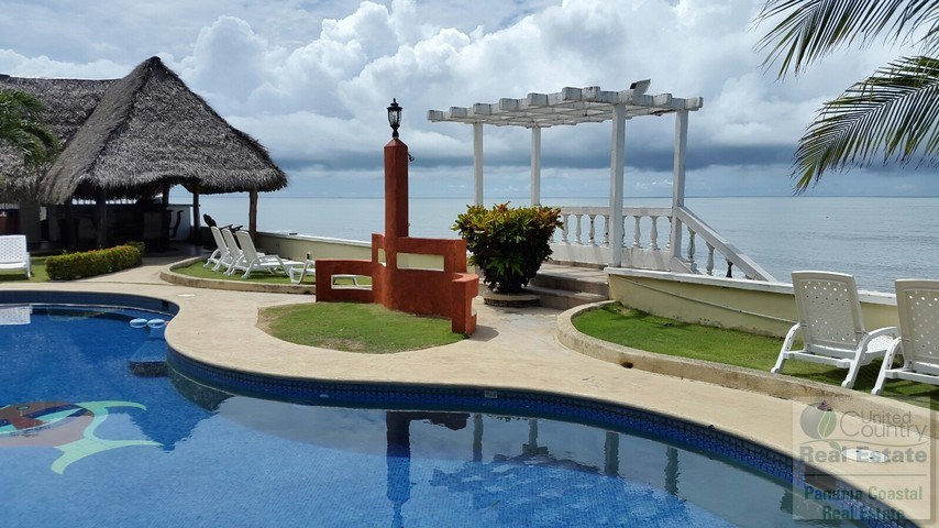 Ocean Front Apartment in Gorgona Condos for sale in panama