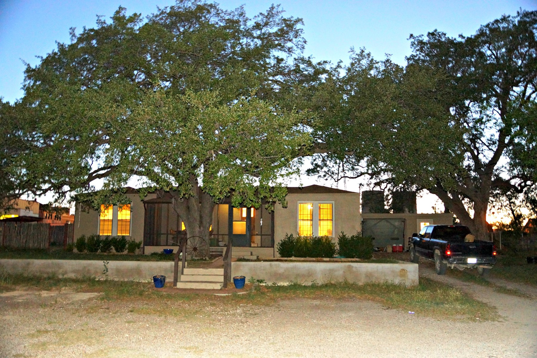 Mertzon Ranch Style Home with land near San Angelo, Tx