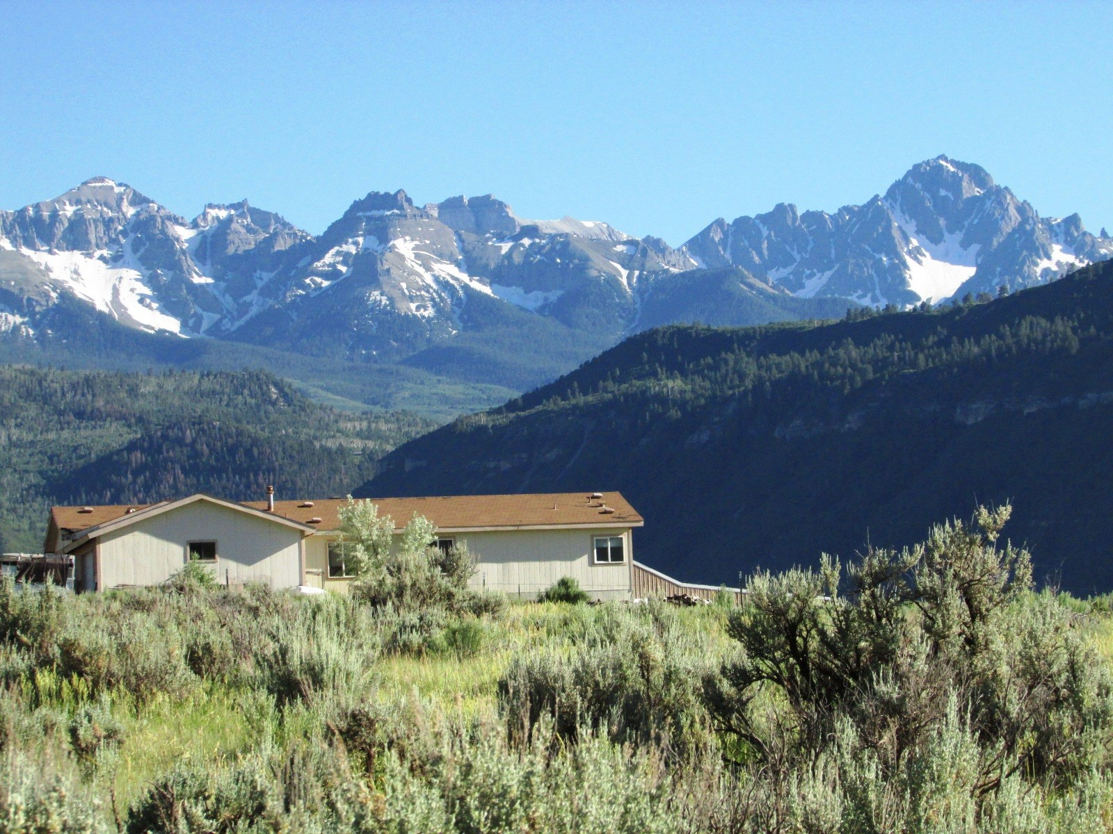 Mountain Recreational Agricultural Home For Sale Ridgway CO