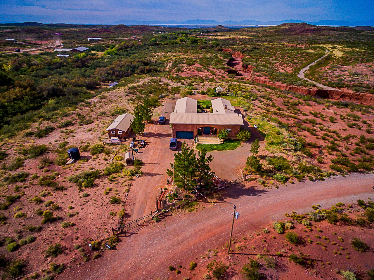 Acreage in Southern NM with Creek Frontage