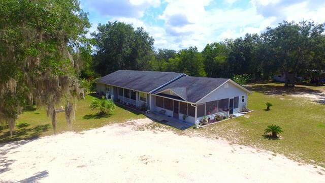 NORTH CENTRAL TRENTON FLORIDA 3 BED/2 BATH ON 9.39 ACRES