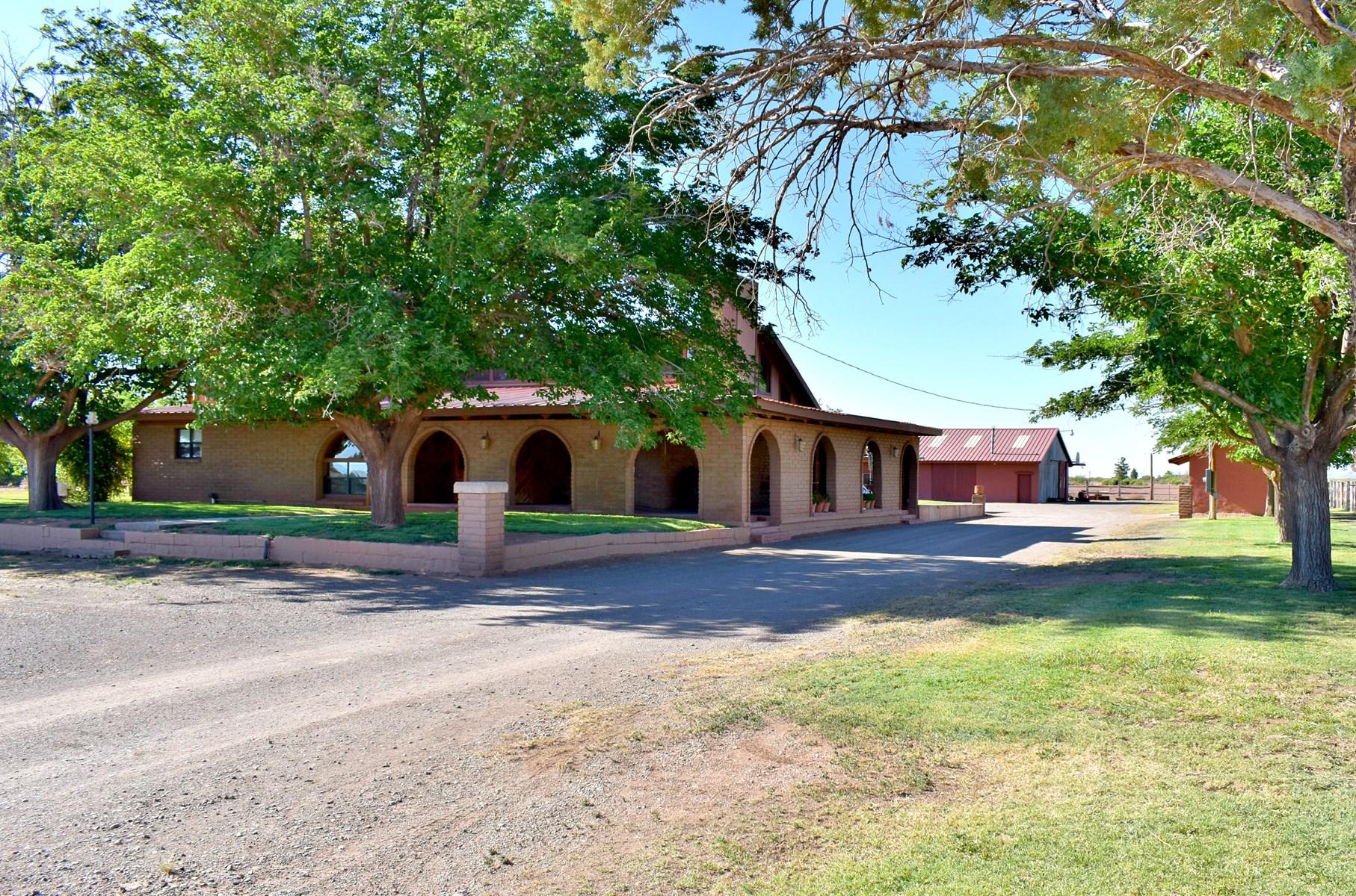 Custom Home,  Equestrian Ranch in Tularosa, New Mexico
