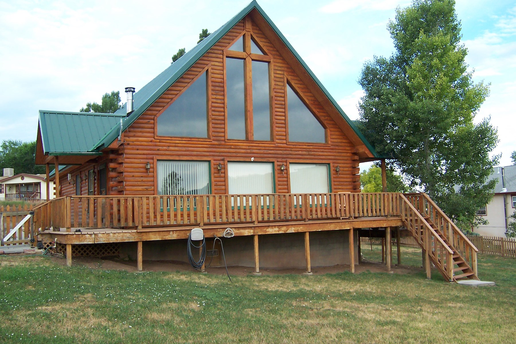 Log Home in Collbran Colorado for Sale