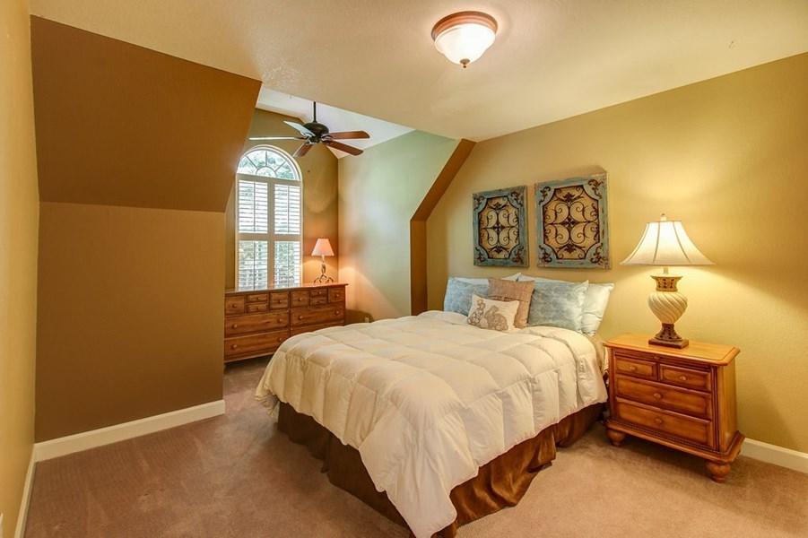Spacious spare bedroom.