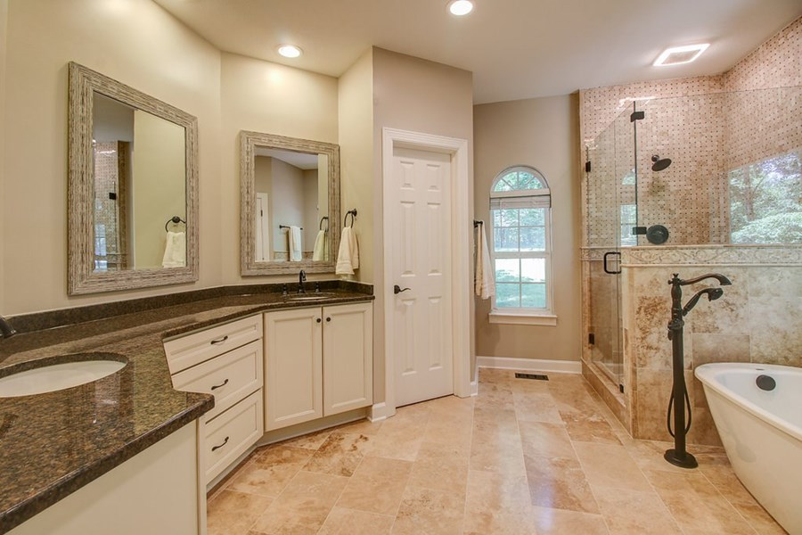 Master bathroom has everything you could want!