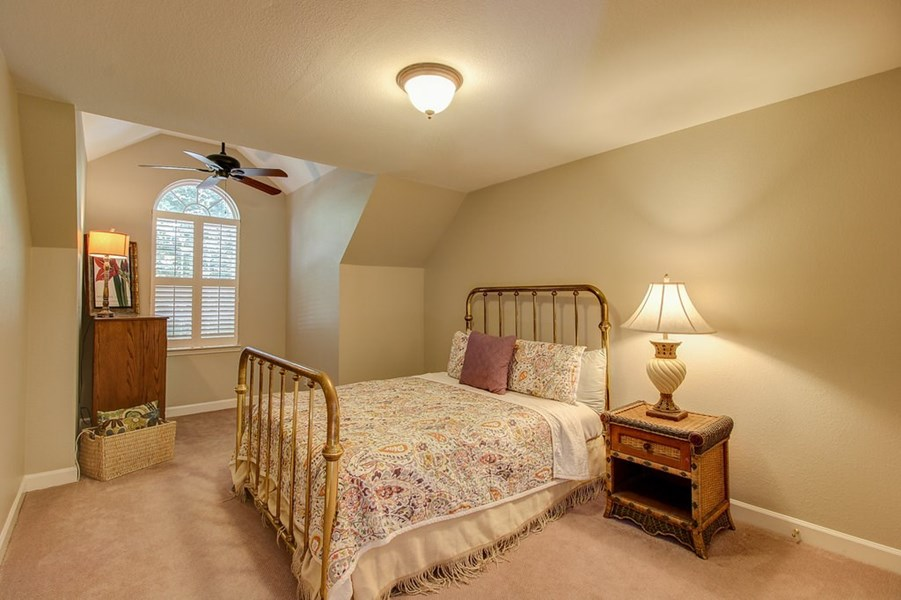 Another spacious bedroom.